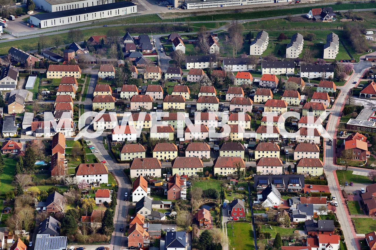 Eschhofsiedlung Schulstraße Luftbild
