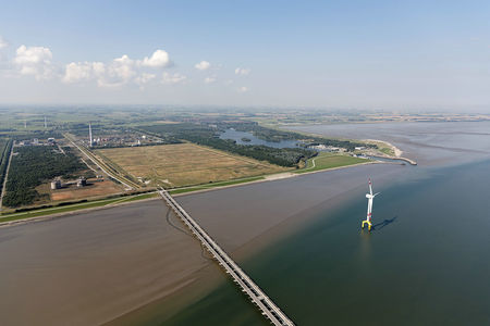 Luftaufnahme Wattenmeer