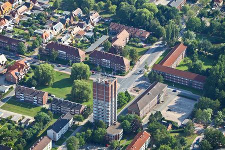 Luftaufnahme Rathausturm