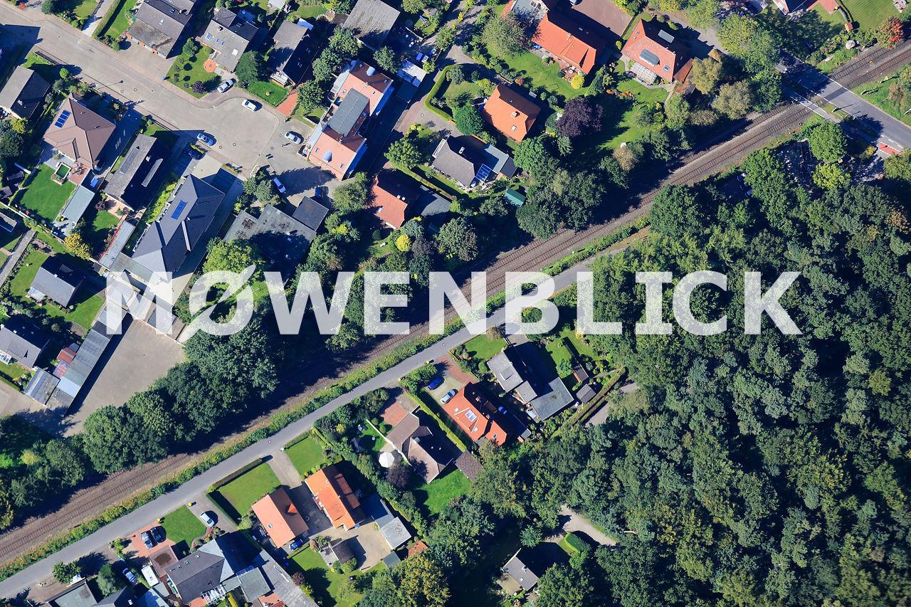 Königsberger Straße Luftbild