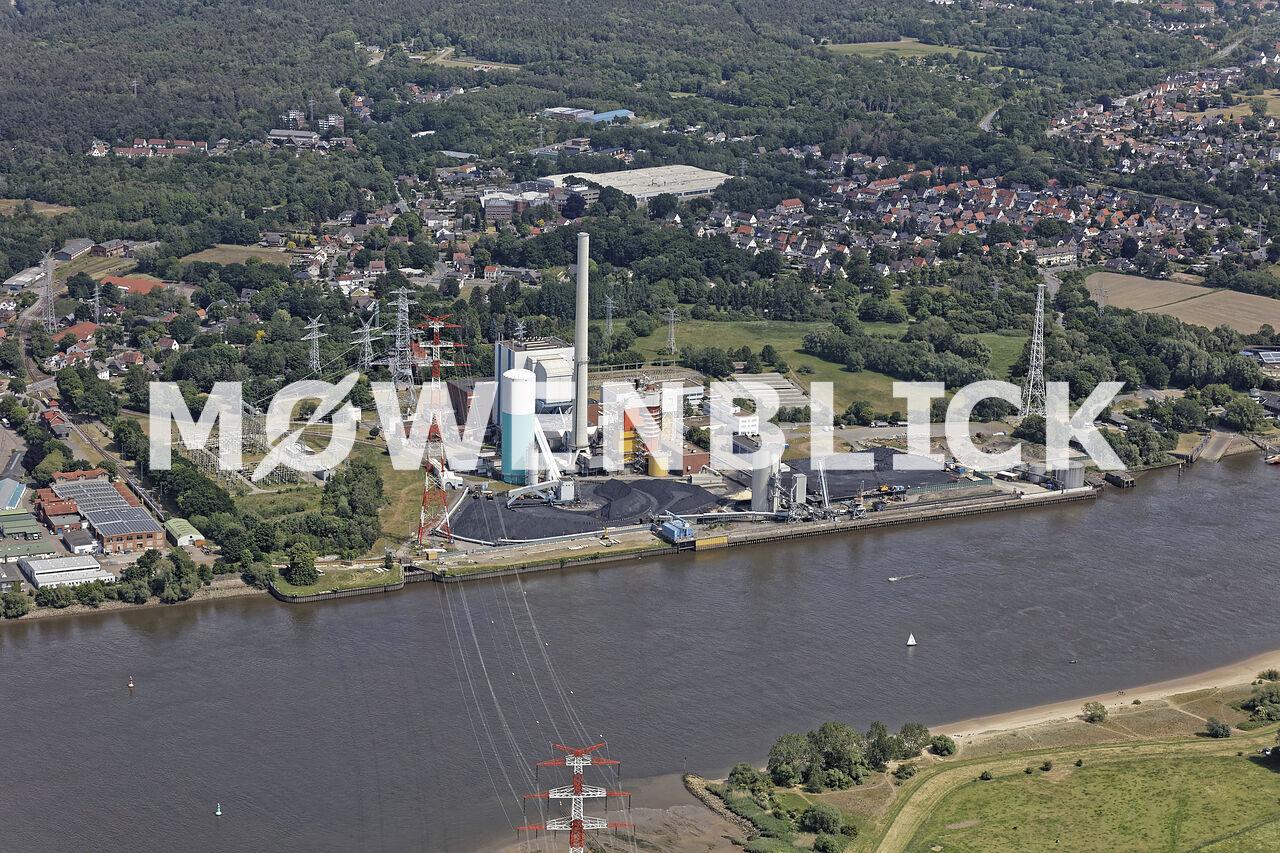 ENGIE Kraftwerk Luftbild