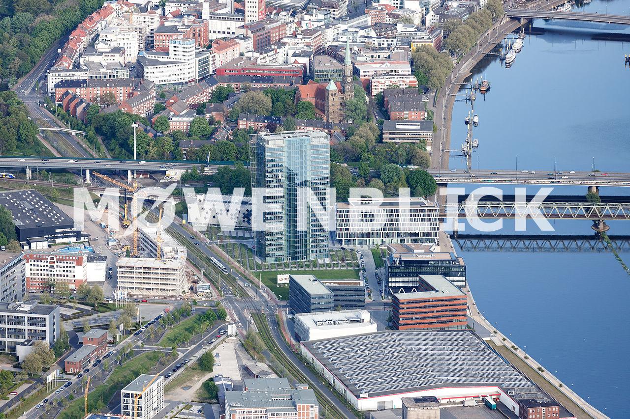 Weser Tower Luftbild