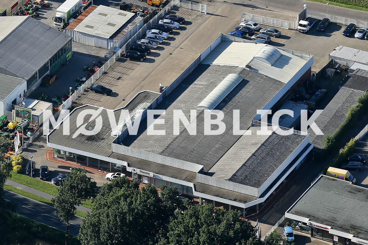 Autohaus Menke Luftbild