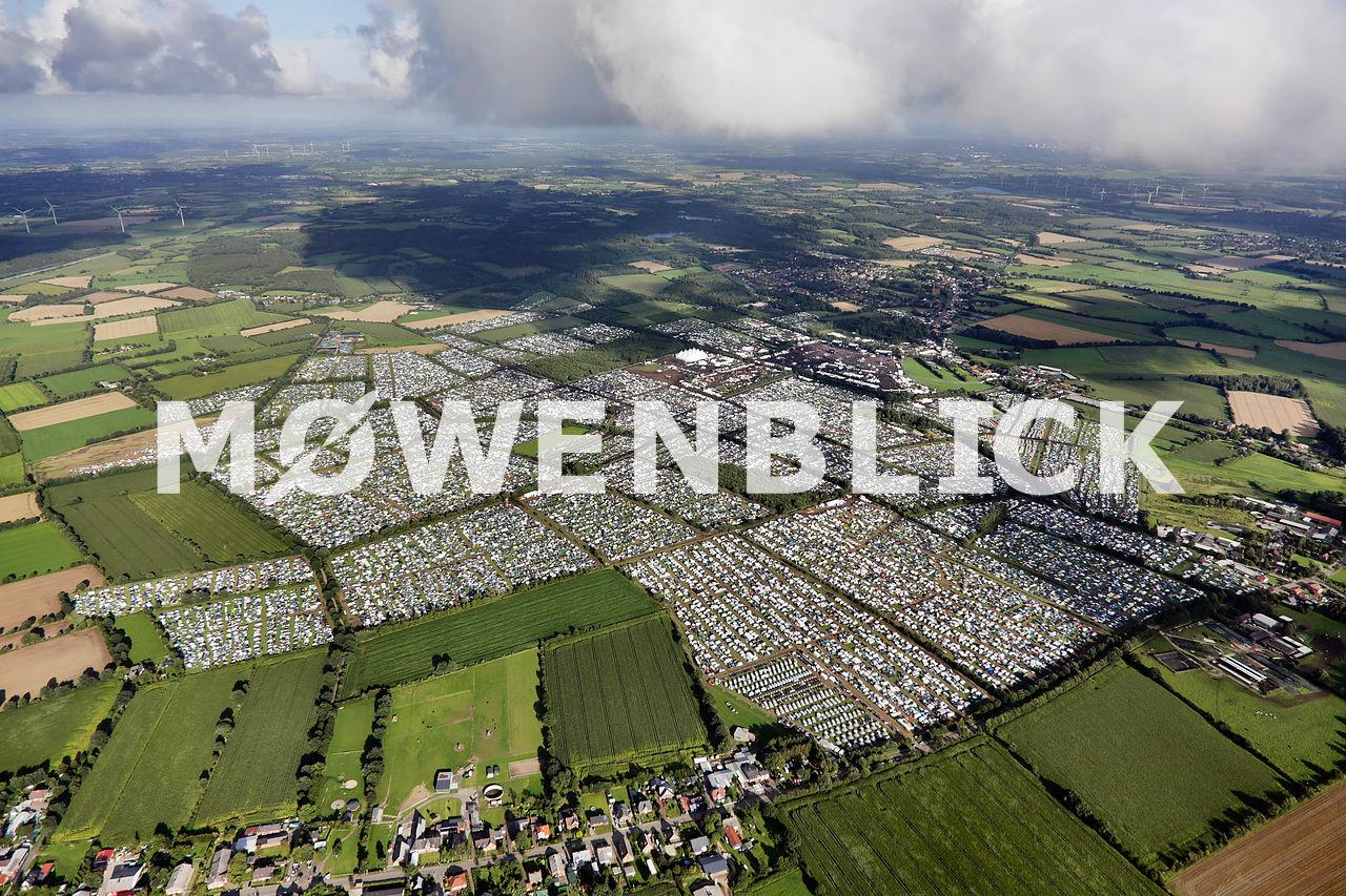 Wacken 2016 WOA Luftbild