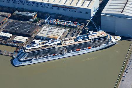 Kreuzfahrtschiff celebrity silhouette