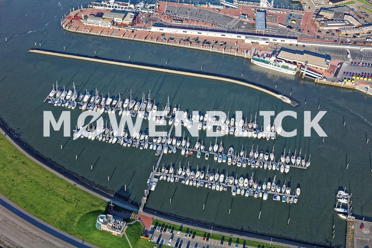 Segelboothafen Luftbild
