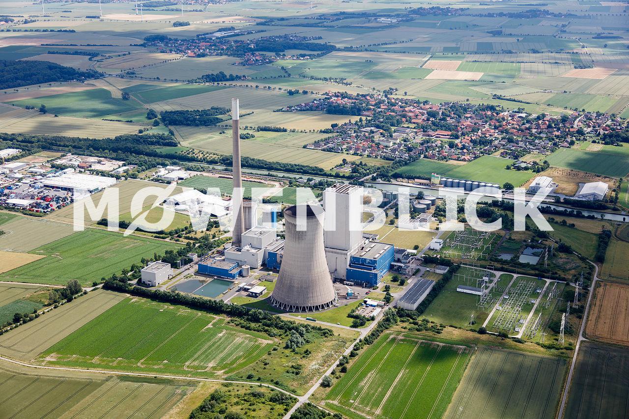 Gemeinschaftskraftwerk Luftbild