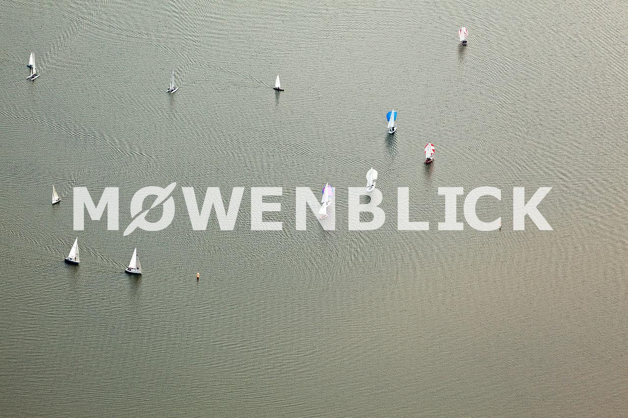 Segelboote Luftbild