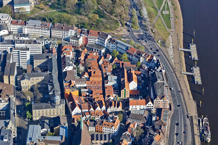 Luftaufnahme Schnoor