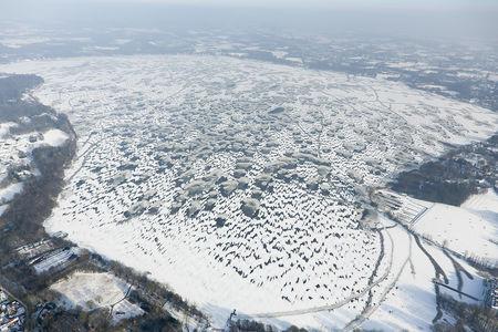 Zwischenahner Meer zugefroren
