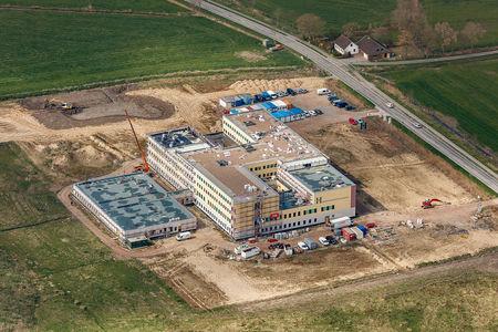 Luftaufnahme Wesermarsch Klinik