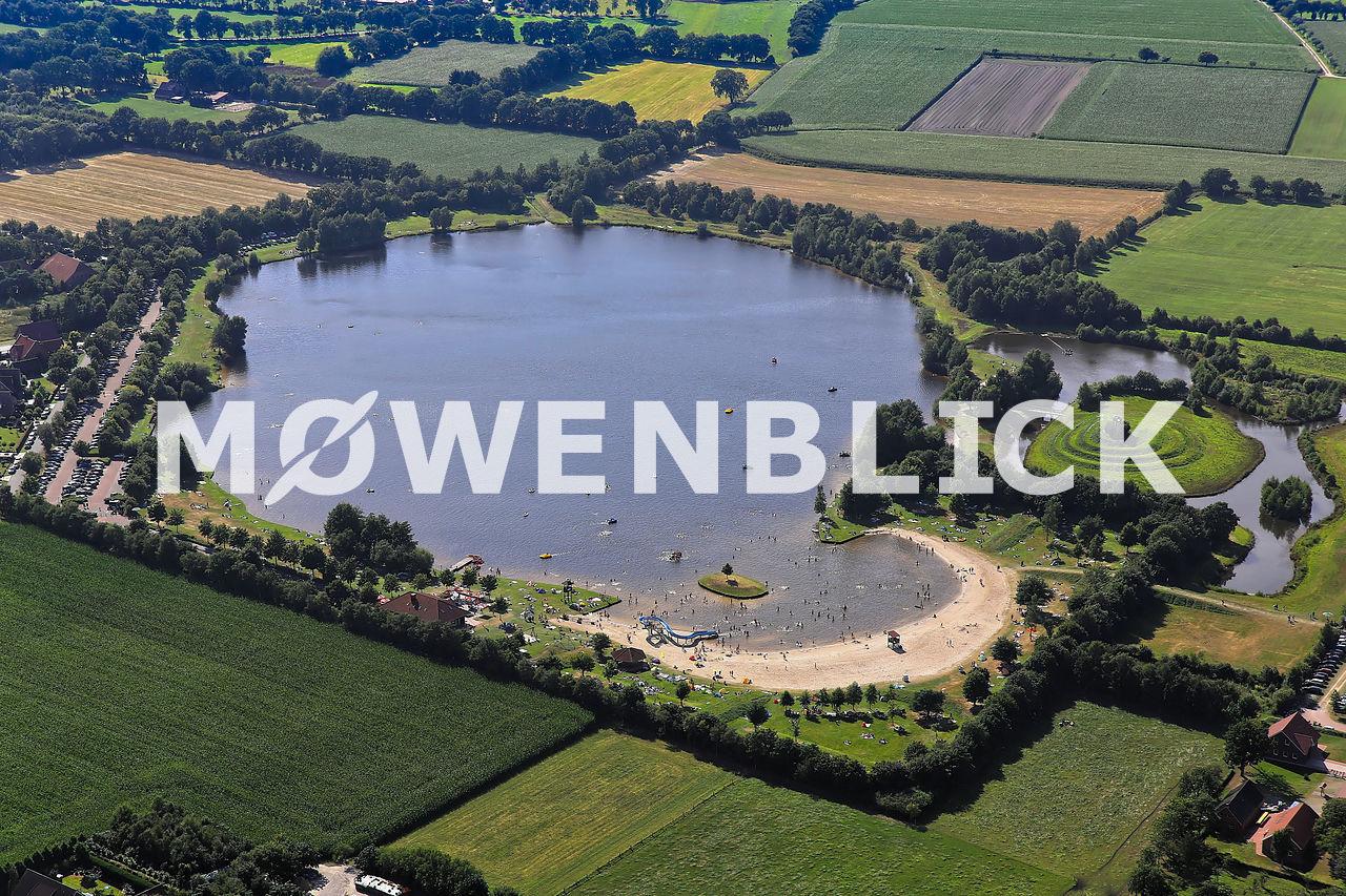 Großsander See Luftbild