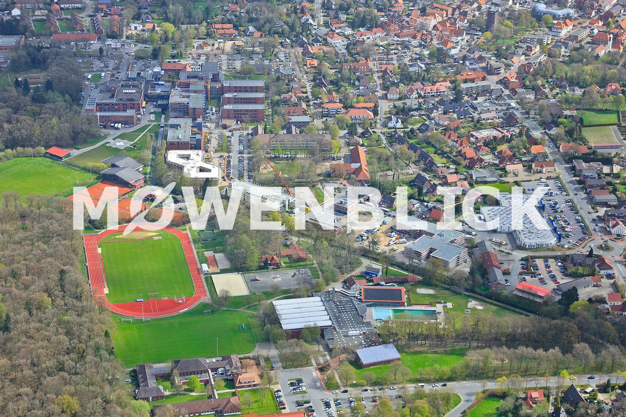 Bundeswehrkrankenhaus Luftbild