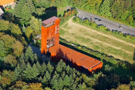 Luftaufnahme Museumspark Varusschlacht