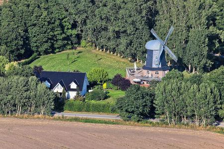 Luftaufnahme Spredaer Windmühle