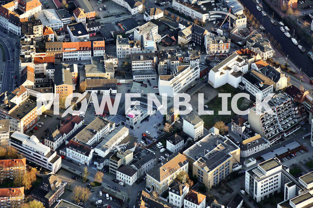 Bahnhofsviertel Luftbild