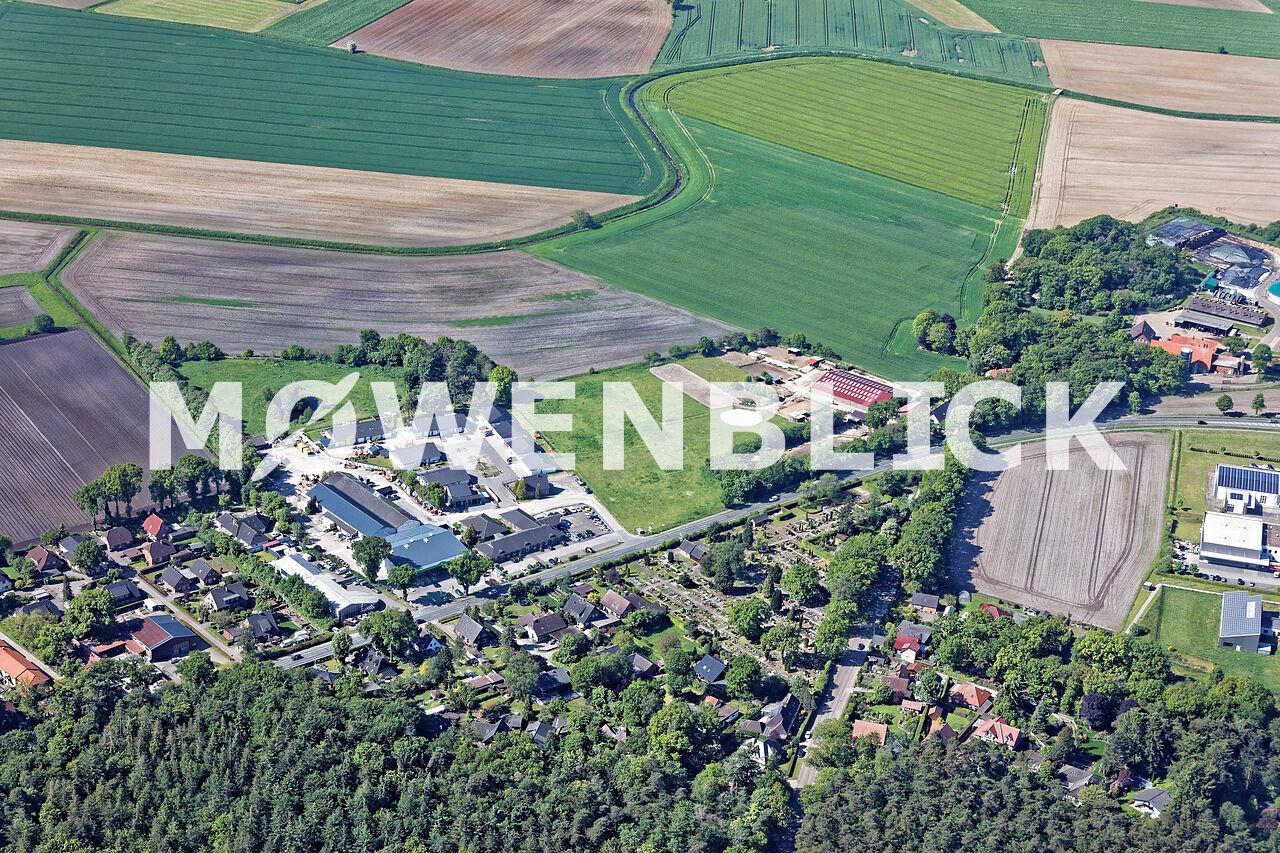 Jobcenter Landkreis Luftbild
