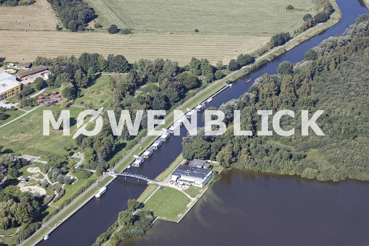 Cafe Dobbendeel Luftbild