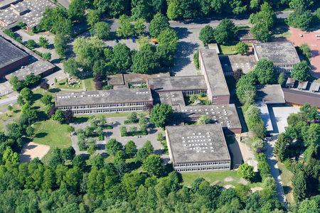 Luftaufnahme Integrierte Gesamtschule