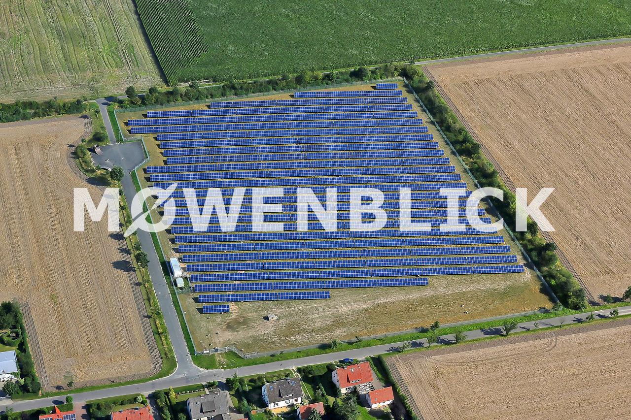 Der Solarpark Luftbild