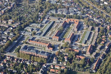 Luftaufnahme Kaserne Donnerschwee