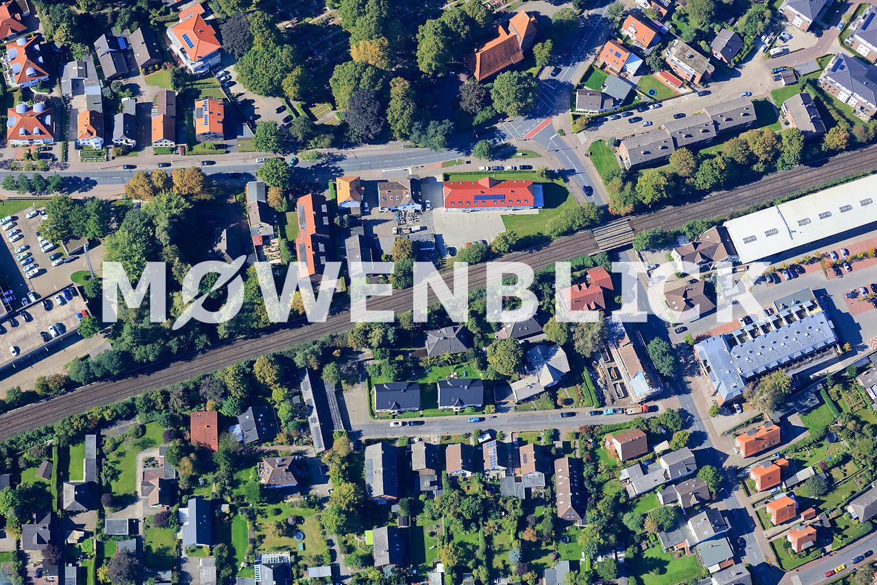 Arp-Schnitker-Straße Luftbild