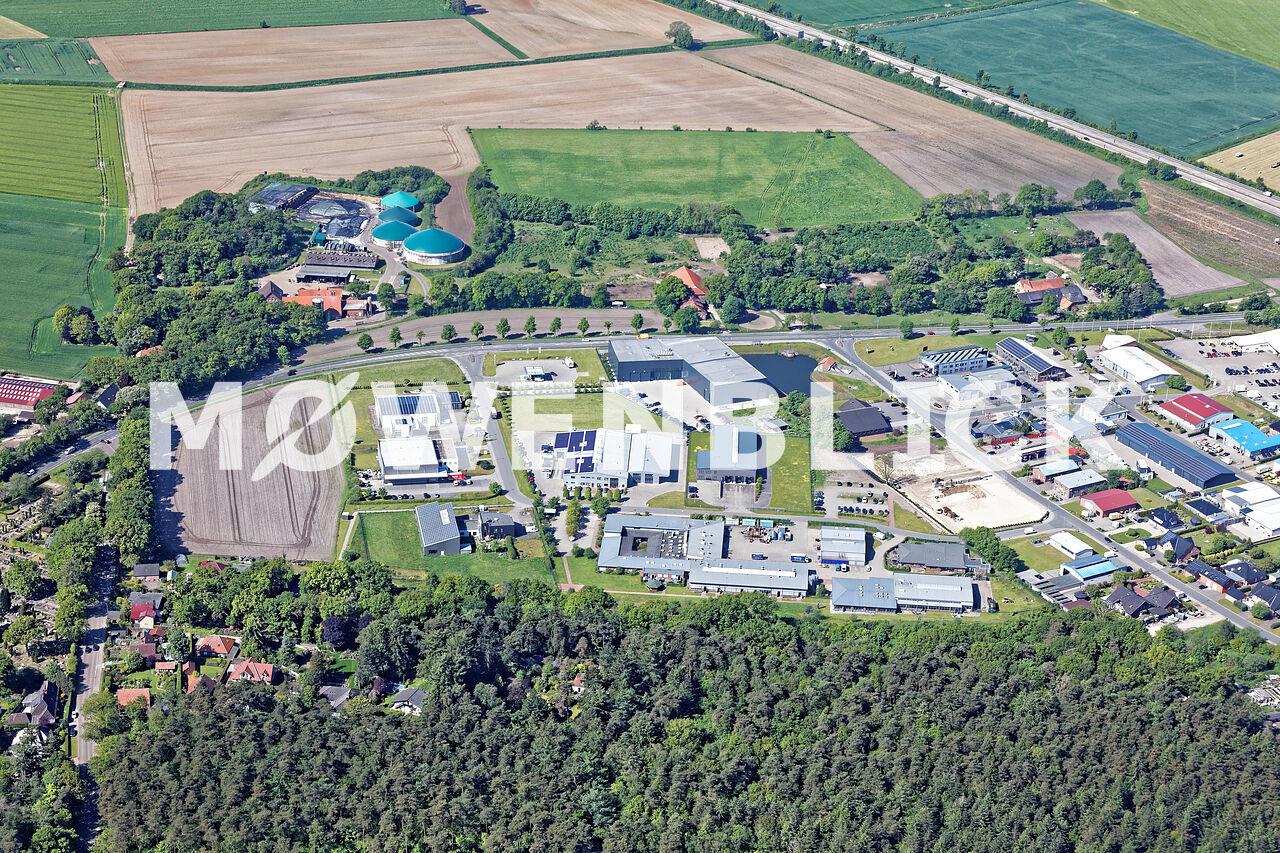Gewerbegebiet Theodor-Heuss-Straße Luftbild