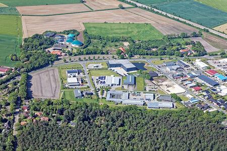 Luftaufnahme Gewerbegebiet Theodor-Heuss-Straße