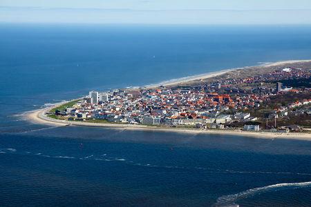 Luftaufnahme Stadt Norderney