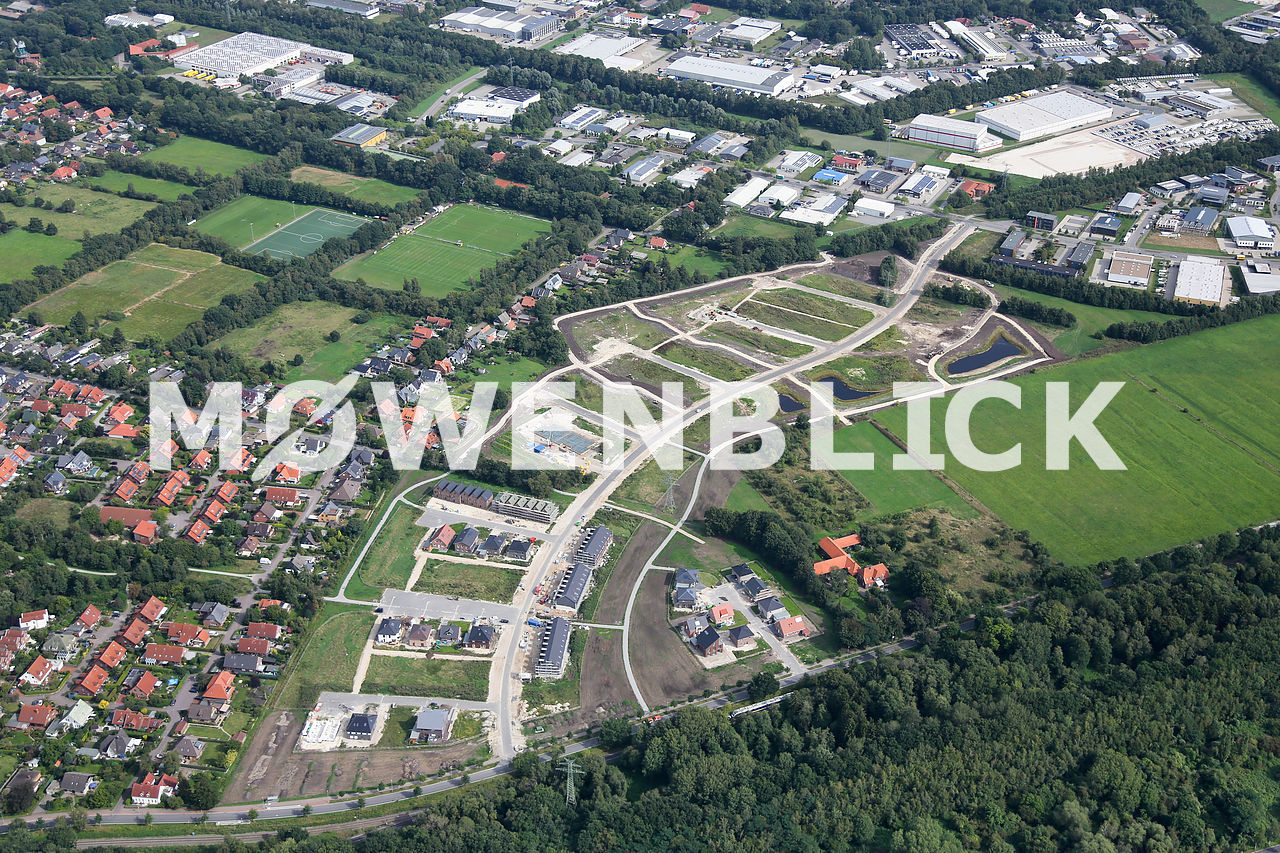Baugebiet Storchweg Luftbild