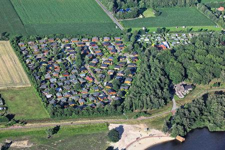 Luftaufnahme Camping Thülsfelder Talsperre
