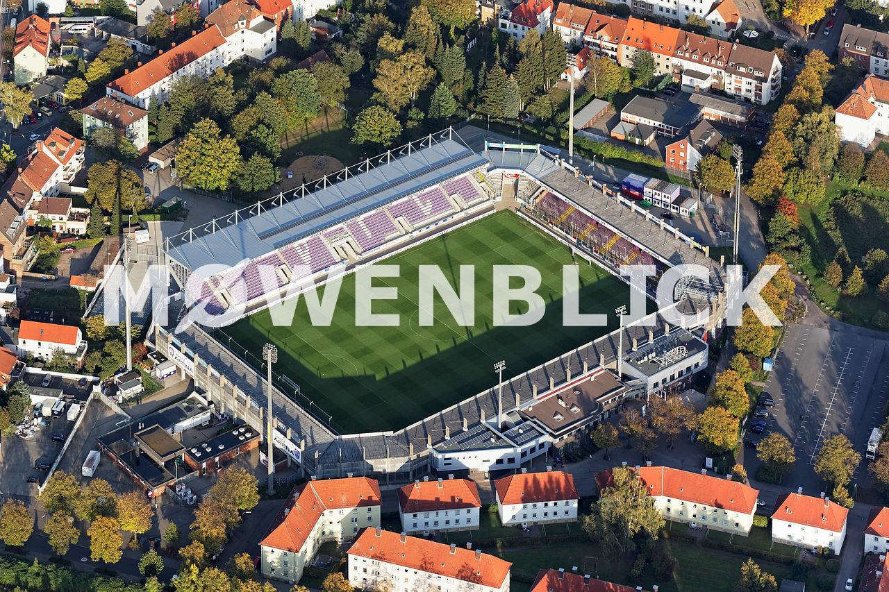 Osnatel-Arena Luftbild