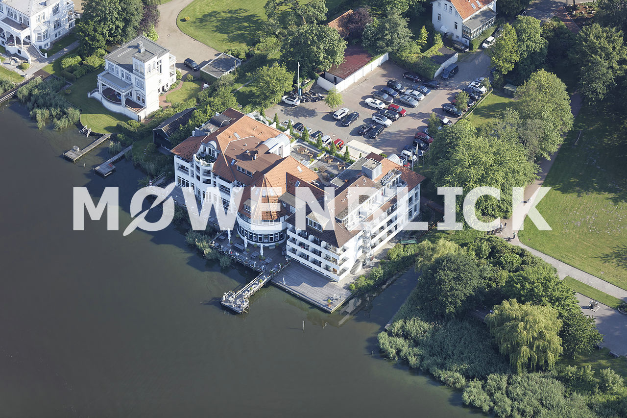 Seehotel Fährhaus Luftbild