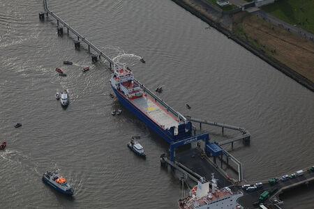 Atomtransport auf der Weser