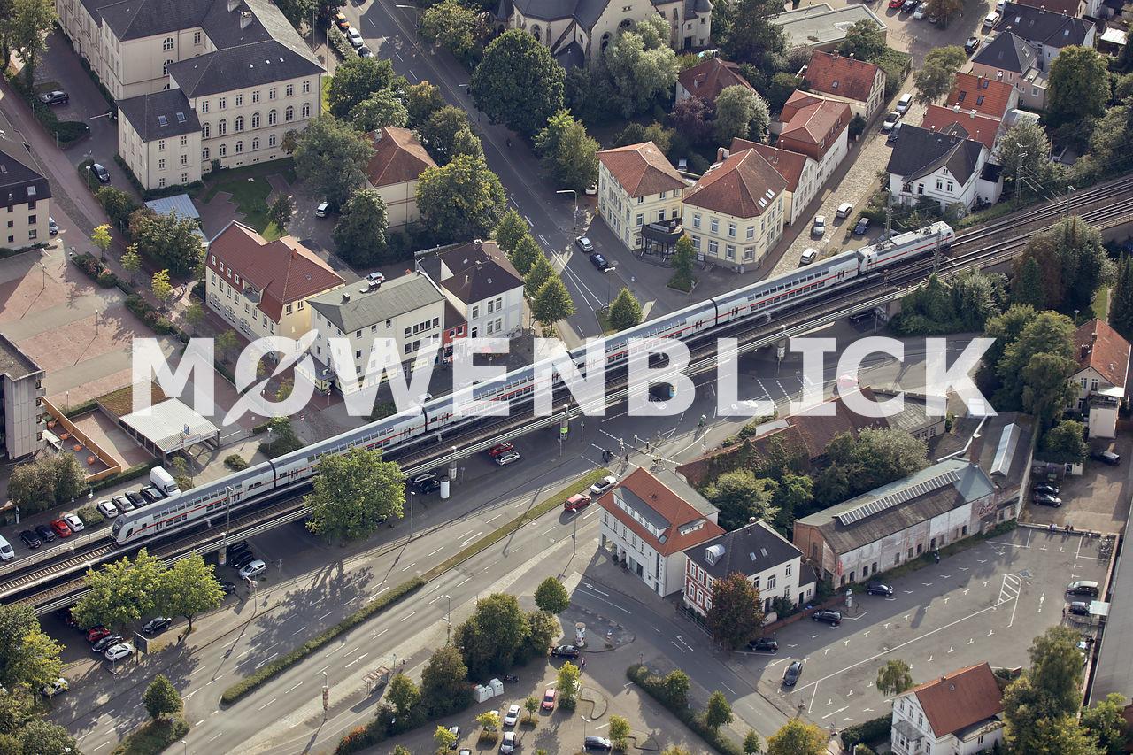 Bahnbrücke am Pferdemarkt Luftbild