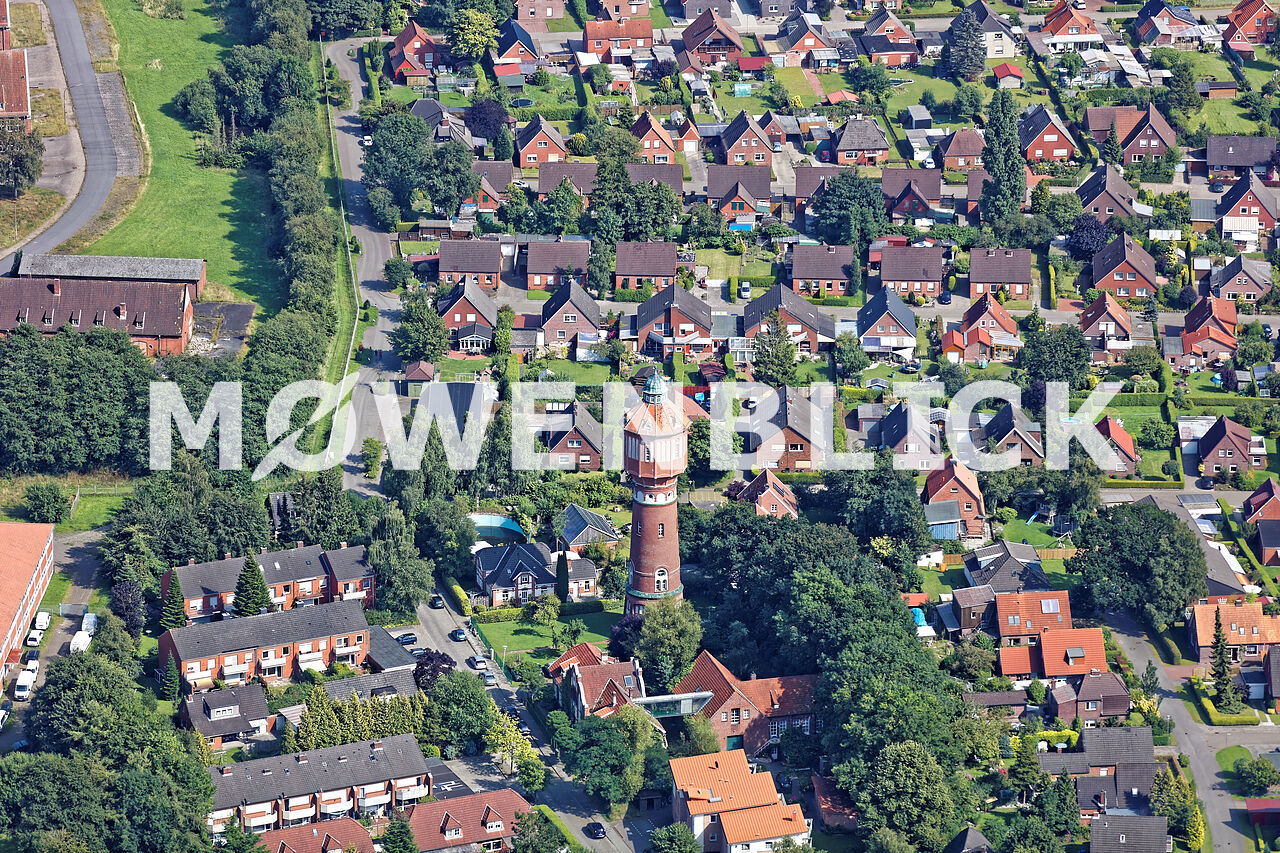 Der Wasserturm Luftbild