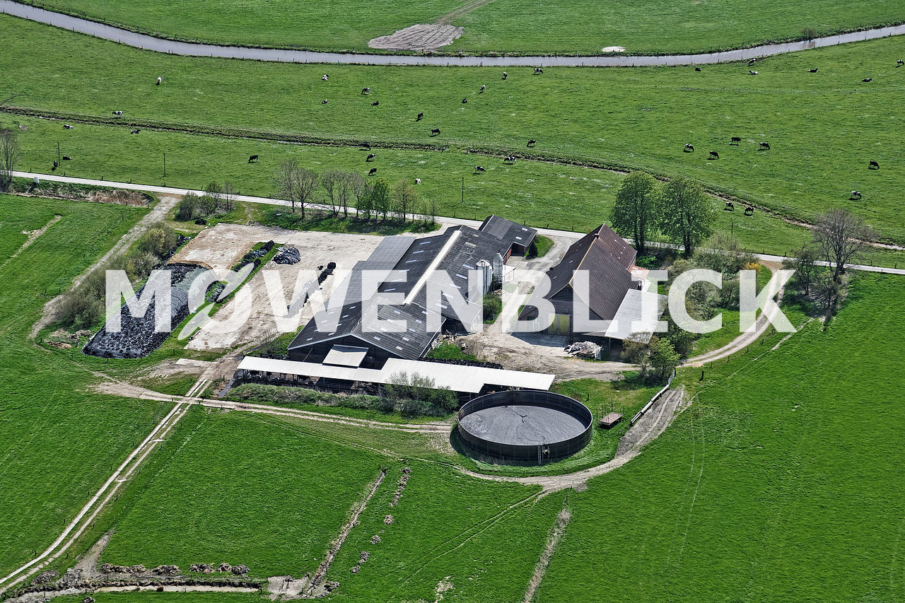 Harenburg Luftbild