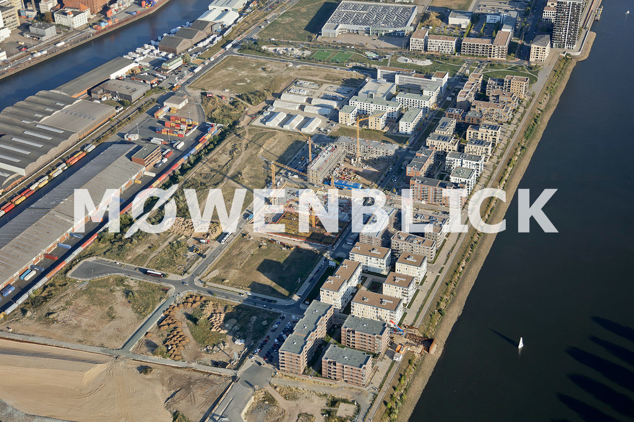 Deichhäuser Weserhäuser Luftbild