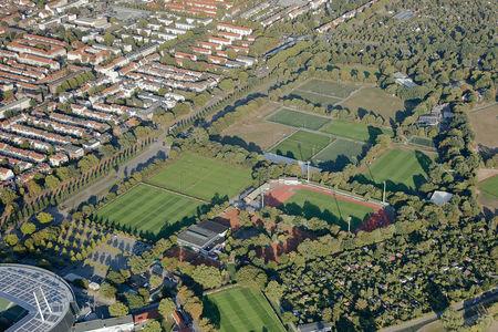 Luftaufnahme Weserstadion Platz 11