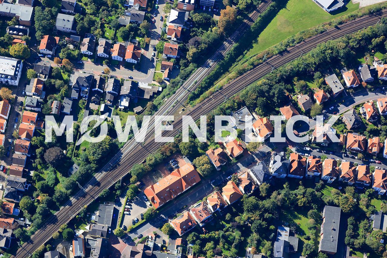 Würzburger Straße Luftbild
