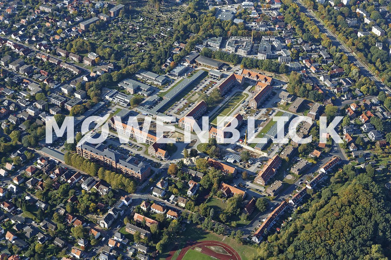 Neubauten Kaserne Luftbild