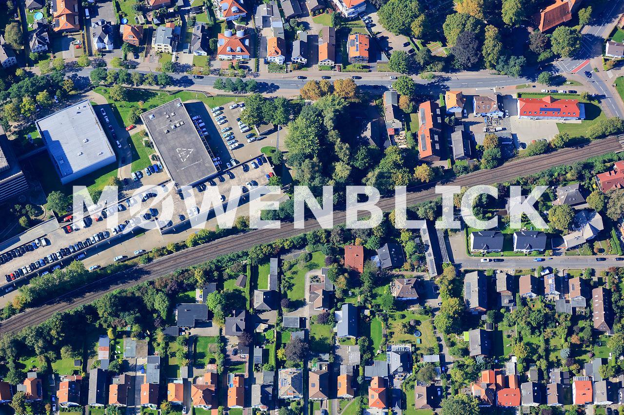 Friedhofsweg Luftbild