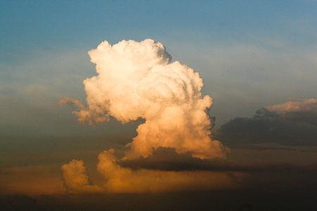 Luftaufnahme Wolkenformation