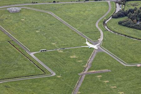Landeanflug Flughafen