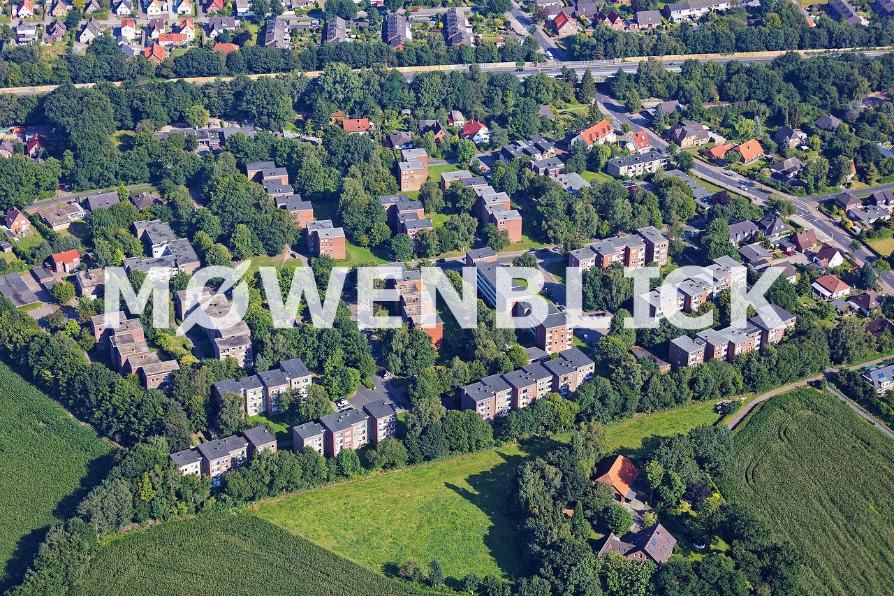 Käthe Kollwitz Straße Luftbild