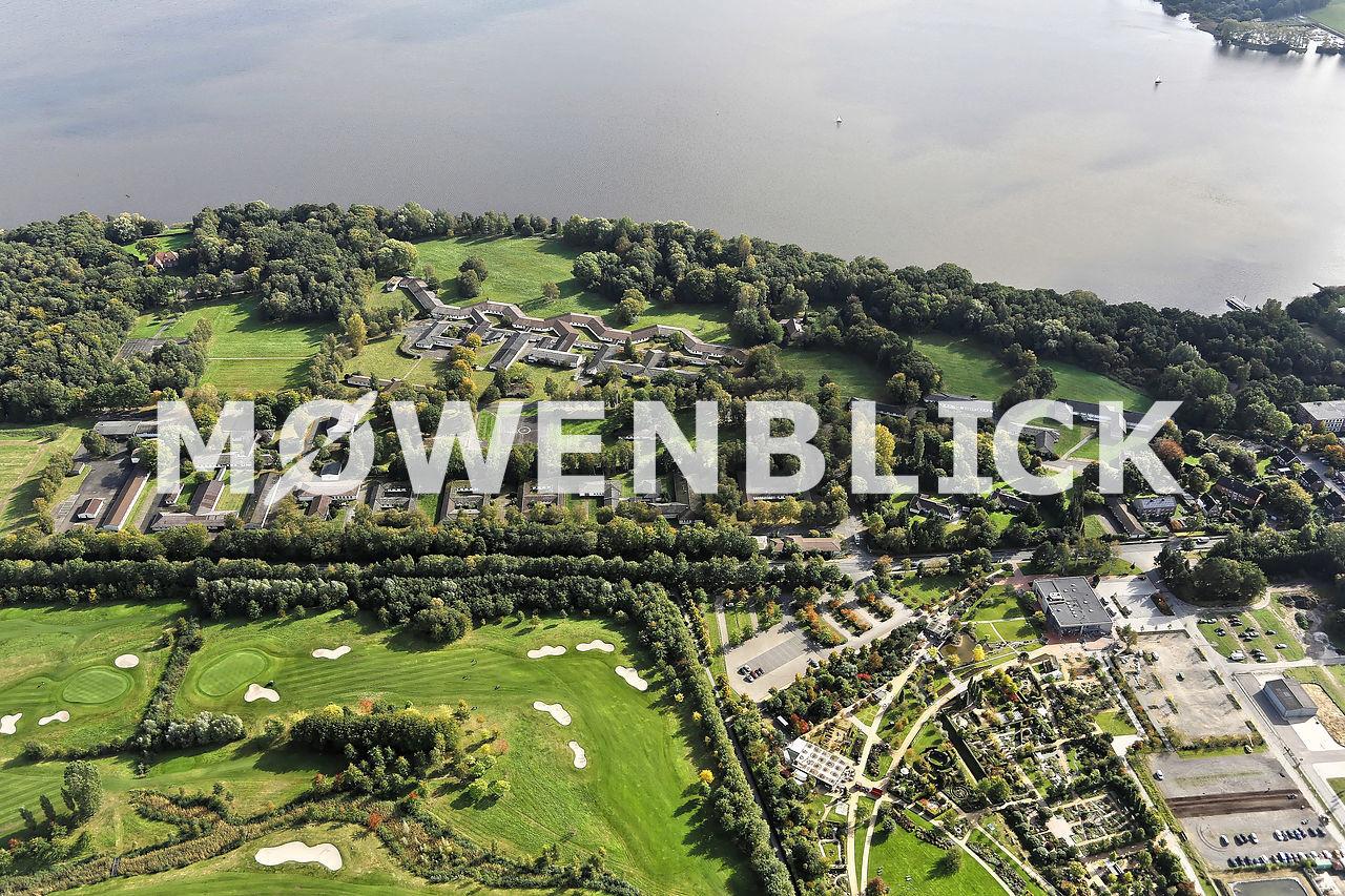 Bundeswehrkrankenhaus Rostrup Luftbild
