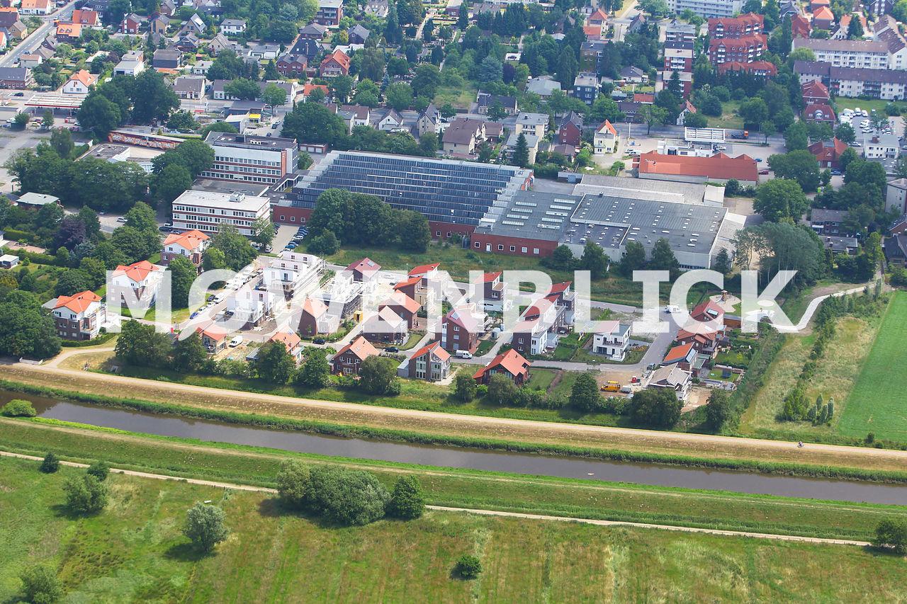 Hansa-Ring Luftbild