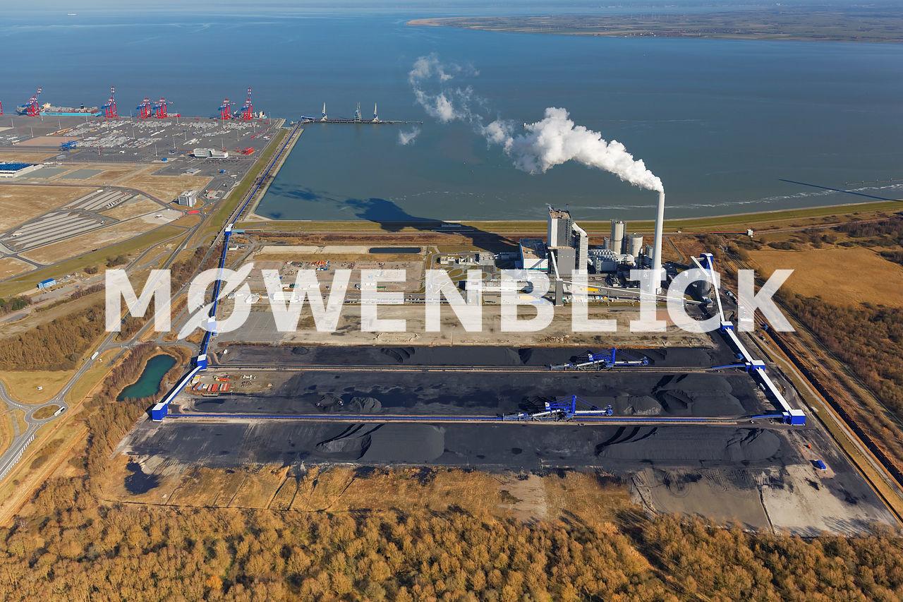 Steinkohlekraftwerk Luftbild