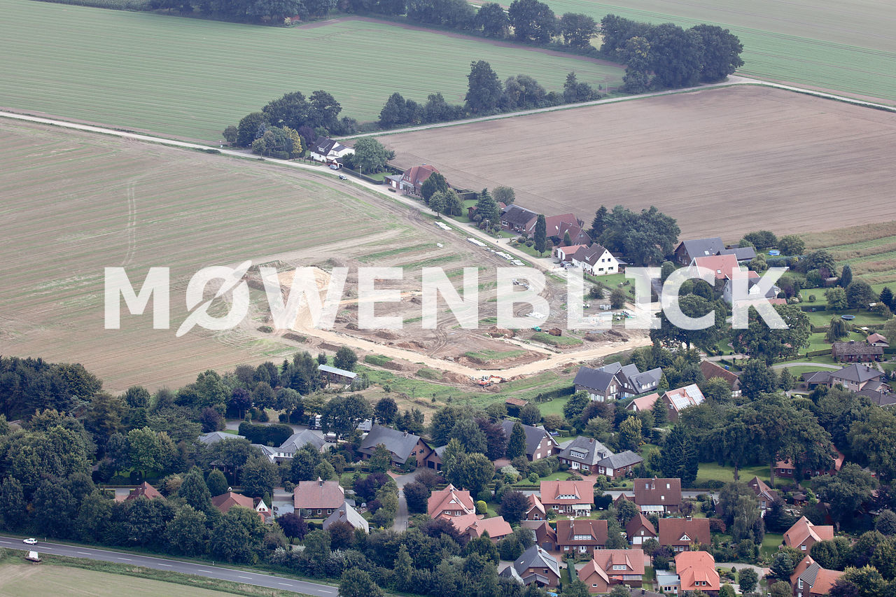 Baugebiet Luftbild