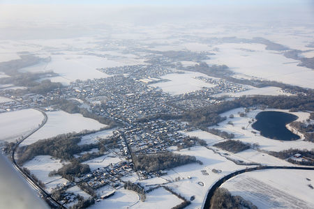 Luftaufnahme Winterliches Luftbild
